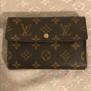 SOLD Authentic Louis Vuitton wallet